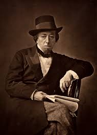 The Ex-Briitish Prime Minister Benjamin Disraeli