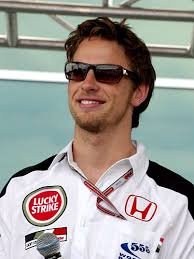 Jenson Button the famous English F1 driver