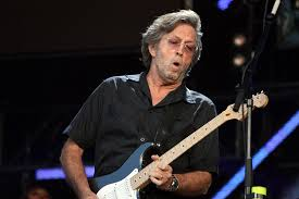 Eric Clapton, the famous English Guitarist and Singer