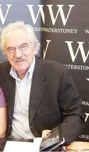 The famous sporting presenter Des Lynam