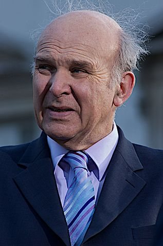 The British Member of Parliament Vince Cable