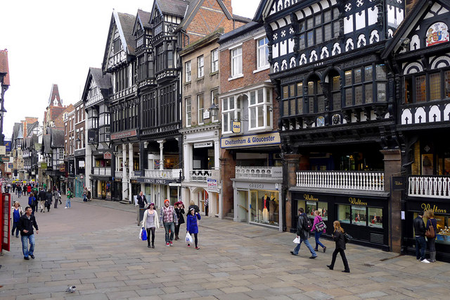 The Roman fortress town Chester