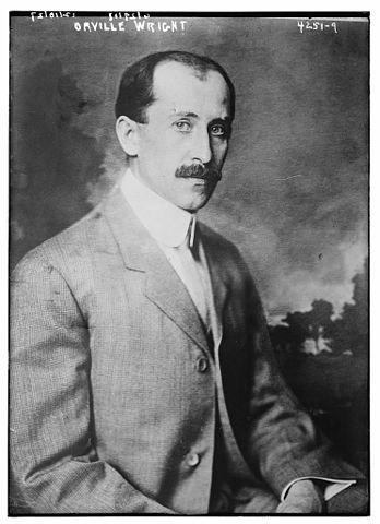 Orville Wright a famous  aviation pioneer