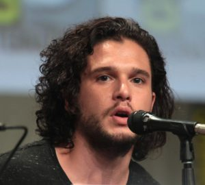 The English actor Kit Harington