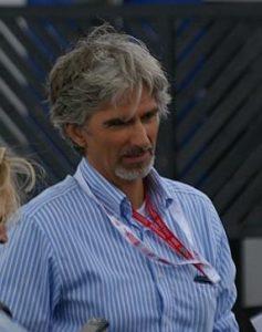 Damon Hill the famous English Formula 1 racing driver