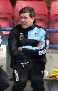 The English Footballer Darrell Clarke